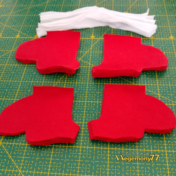 Can you guess what these are - 1 6 scale clothes making - work in progress photo - cut parts.jpg