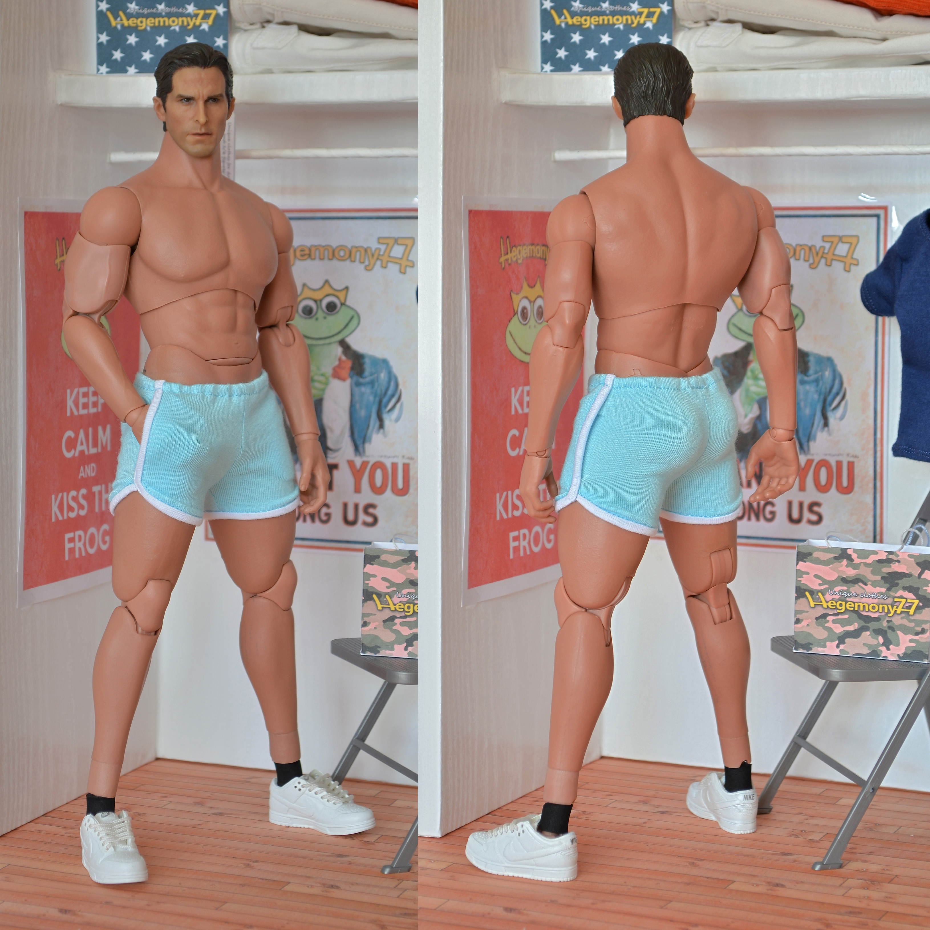 1 6 Scale Hot Toys Ttm20 Advanced Muscular Action Figure -9997